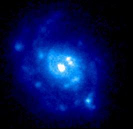 [M77 in UV, Astro-1]